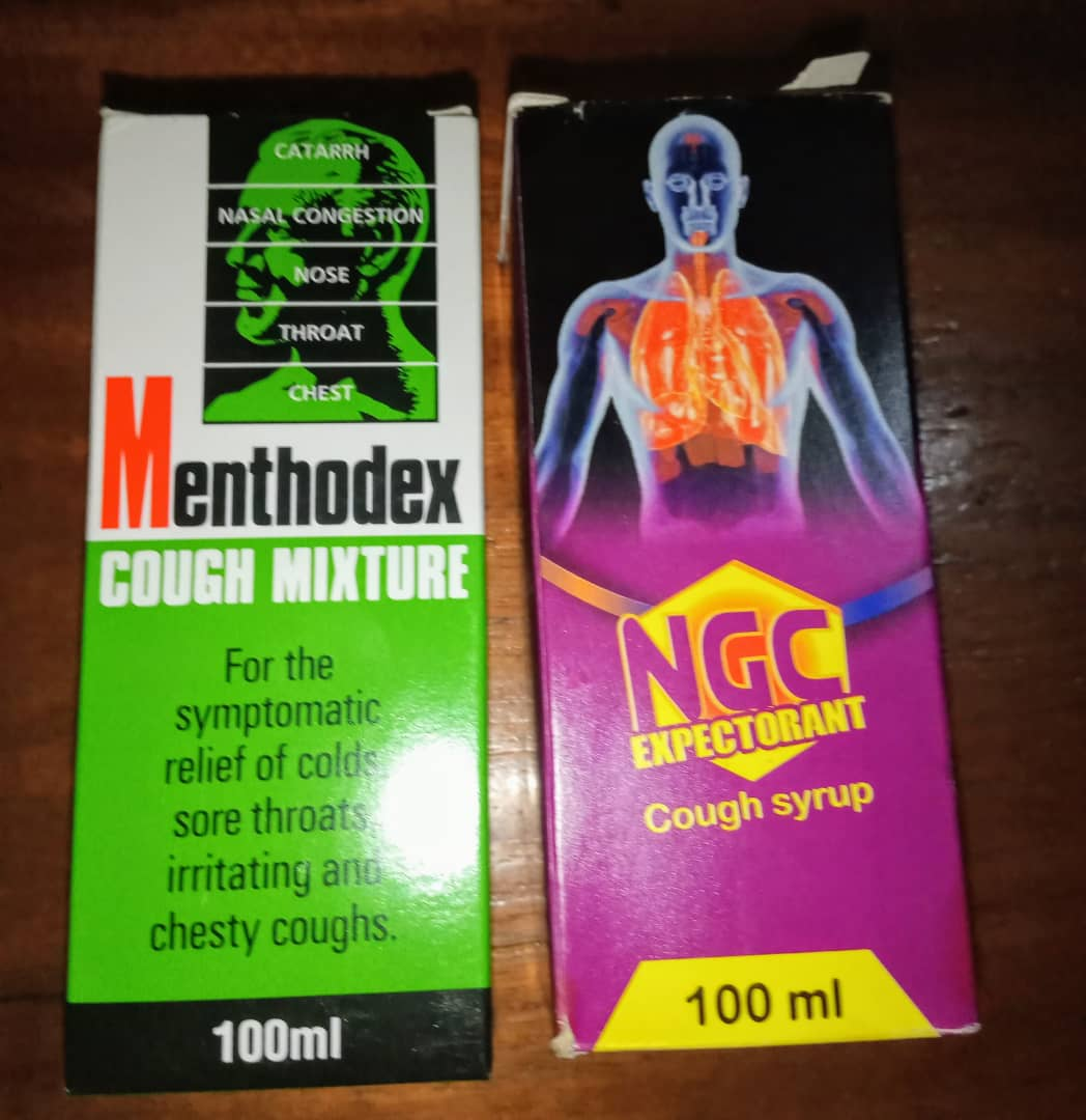 These are part of the drugs my doctor gave me in Nigeria.